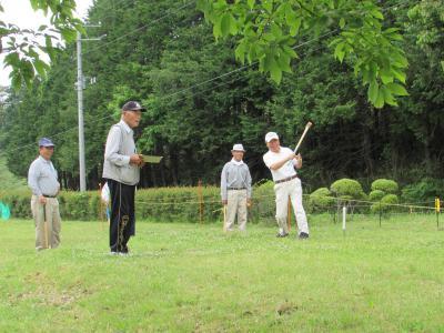第21回グラウンドゴルフ大会の写真2
