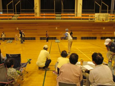輪投げ大会の写真2