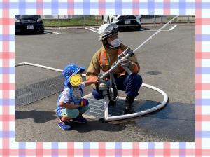 消防署見学2